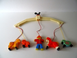 Fisher Price mobil uit 1973 (Art.14-1542)