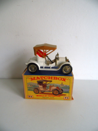 Matchbox Models of Yesteryear Y-4 1909 Opel Coupe jaren 60 (Art.18-1162)