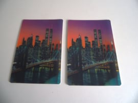 3d ansichtkaarten New York skyline (Art.18-1354)