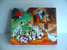 Oude puzzel 101 Dalmatiërs van Jumbo  (Art.15-1316)