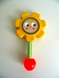 Fisher Price Flower Rattle #424 uit 1973 (Art.16-1576)