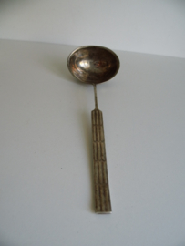 Verzilverde soeplepel 100-11 (Art.17-1376)