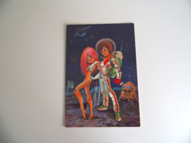 Leuke ansichtkaart uit de jaren 60 ongelopen (Art.19-1182)