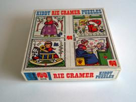 Rie Cramer puzzels 1978 -  4 stuks (Art.20-1259)