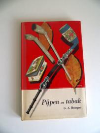 Boek Pijpen en Tabak uit 1964 van G.A.Brongers (Art.19-1345)