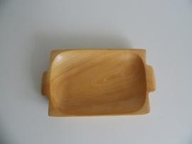 Klein houten schaaltje jaren 70 (Art.19-1151)