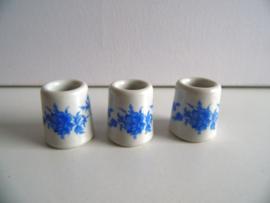 3 kleine kaarsenhouders voor de letterbak (Art.20-1009)