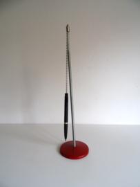 """Leuke oude penhouder met  veer """"Maul """"Made in Germany(Art.18-2171)"""