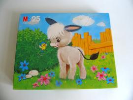 Leuke oude MB kinderpuzzel uit 1980(Art.18-1870)