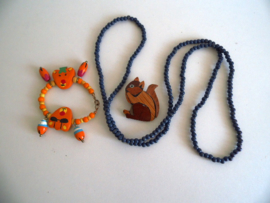 Oud setje kinder sieraden (Art.17-1549)