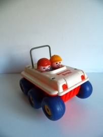 FISHER PRICE LITTLE PEOPLE--BOUNCING BUGGY #122 1973 (Art.16-1086)