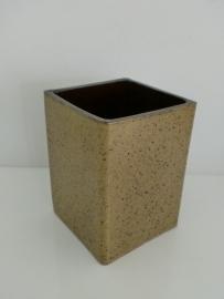 Vierkante vaas (Art.13-12066)