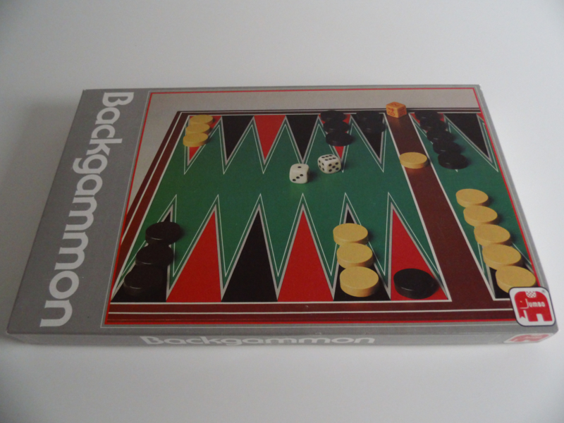 Spel Backgammon van Jumbo uit 1983 (Art.20-1520)