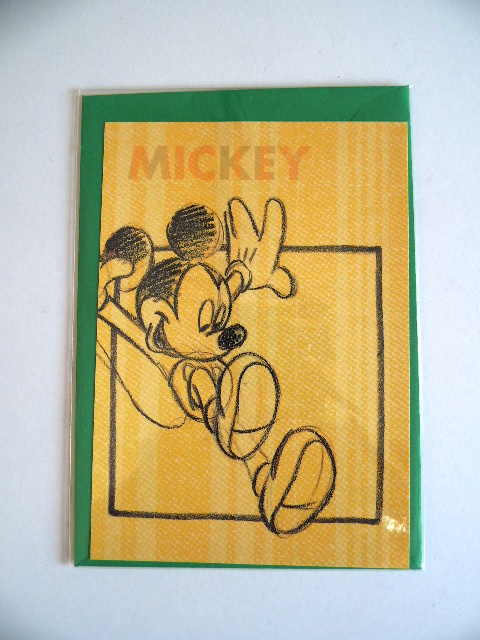 Ansichtkaart van Mickey Mouse (Art.20-1203)