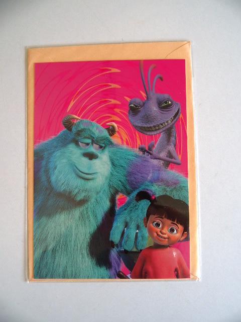 Ansichtkaart van Monsters en co (Art.20-1202)