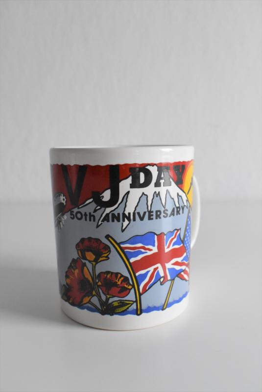 Beker 50 jaar bevrijding V-Day Stadfordshire (Art.21-1934)