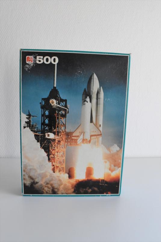 Puzzel Columbia Space Shuttle uit 1981 van Jumbo (Art.21-2050)