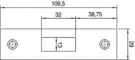 Sluitplaat 4328