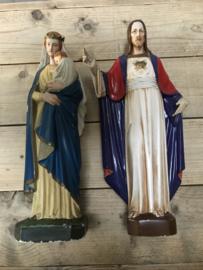 Jezus en Maria beelden