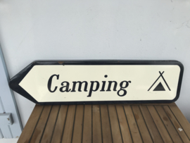 Emaille bord camping