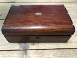 Oude houten doos