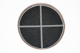 Wandbord zwart 35 cm