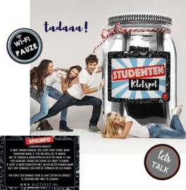 Studenten kletspot