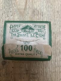 Paperclip doosje antiek