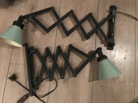2 schaarlampen