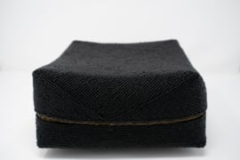 Kralen doos zwart 24 cm