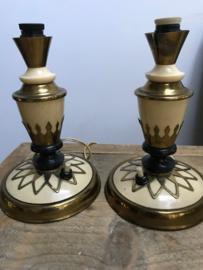 Set Art deco lampenvoeten
