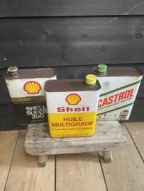 Oude Shell blikken