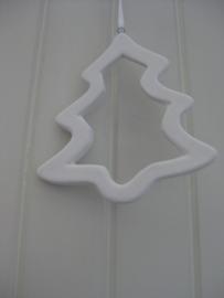 Kerstboomhanger aardewerk (open)