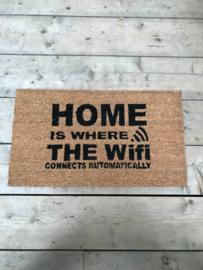 Deurmat wifi