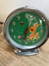 Retro wekker bambi