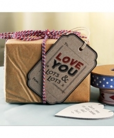 Gift tag love you