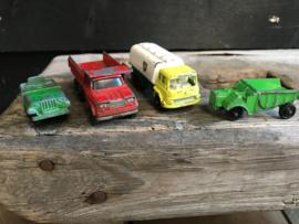 Set van 3 metalen autootjes