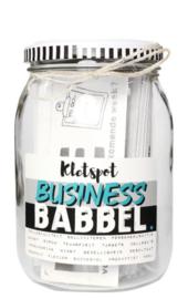 Nr 10 Business Babbel kletspot