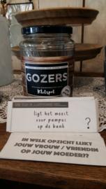 Gozers kletspot