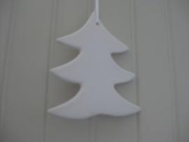Kerstboom hanger aardewerk (dicht)