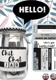 Chit Chat jar (engelse versie van de kletspot)