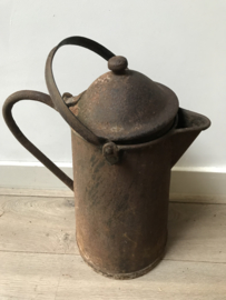 Antieke koffie kan XL