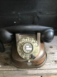 Koperen telefoon