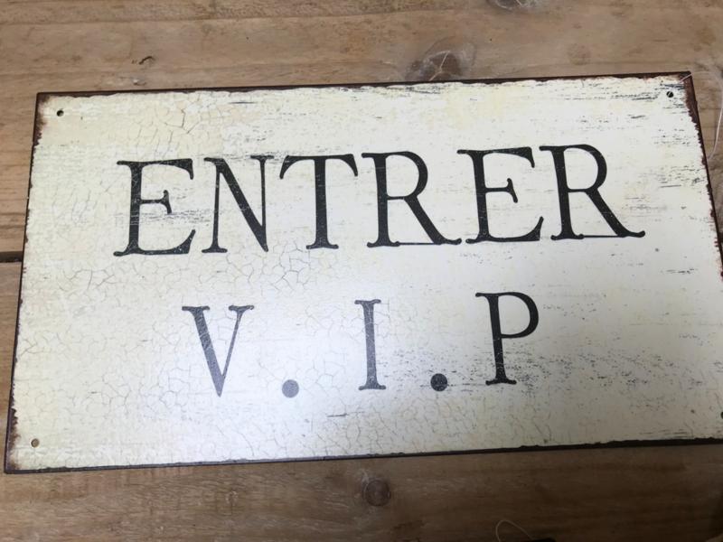 Entrer V.I.P