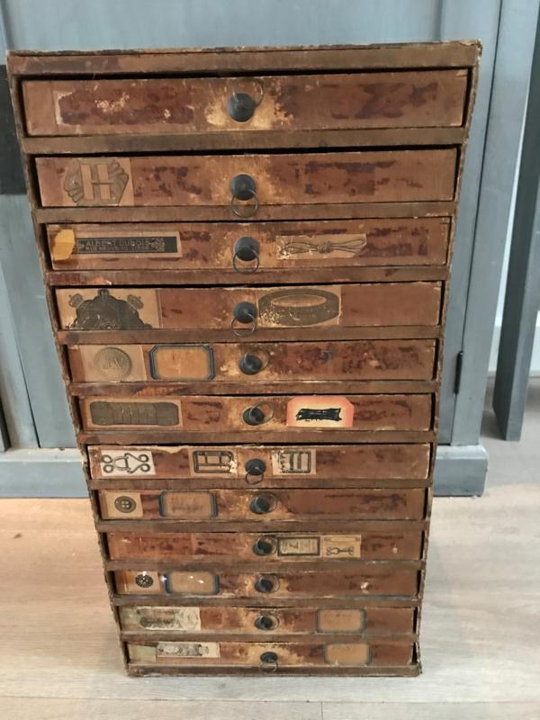 Naaigaren kastje vintage