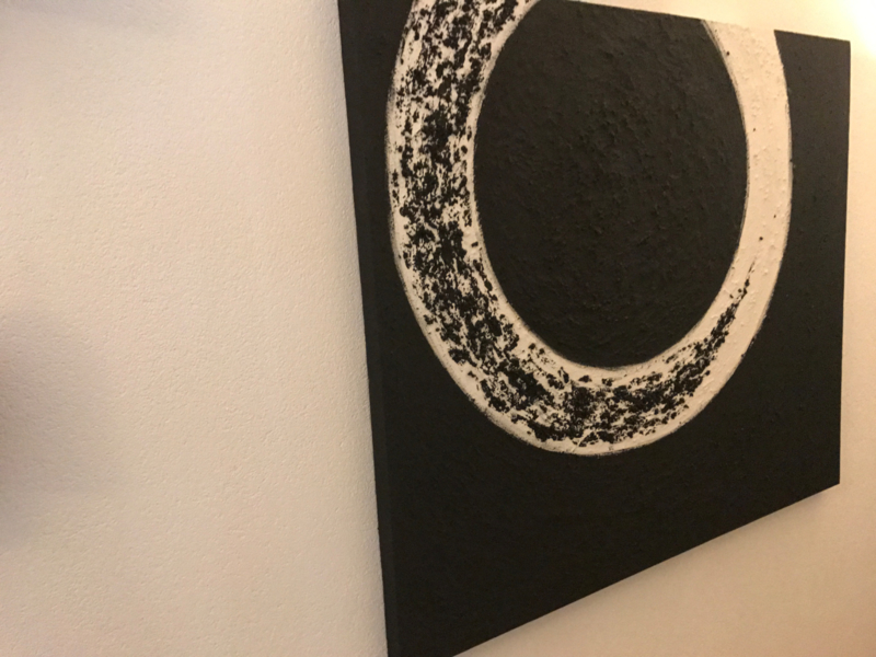 NR 9 Cirkel zwart