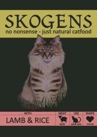 SKOGENS Natural Catfood 3 kg