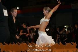 vnd0020 Witte latin jurk