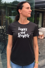 DANCE AND SPARKLE performance dames shirt