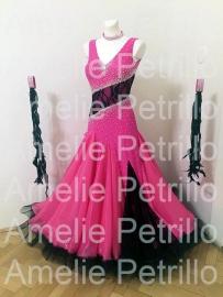 vna0077 BLACK SUGAR ballroomdress